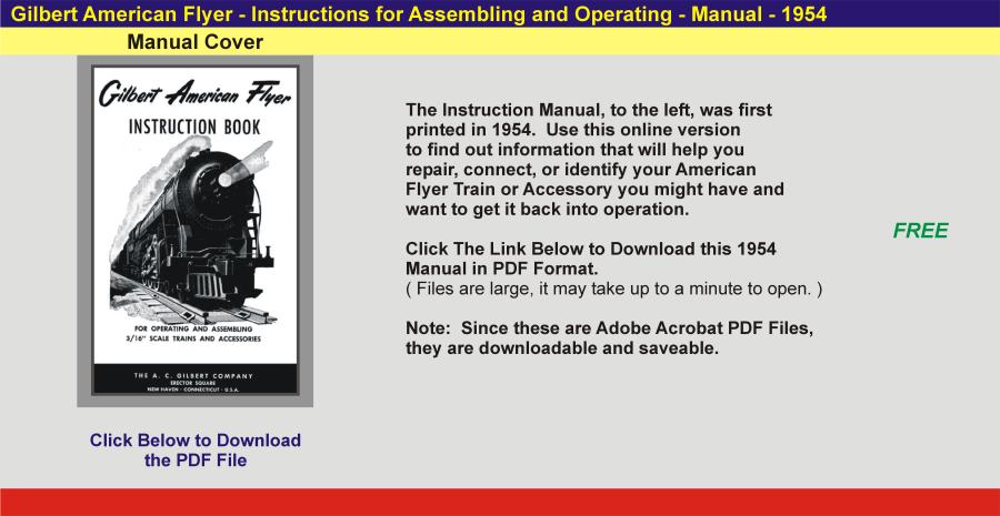 1954 - Instruction Manual