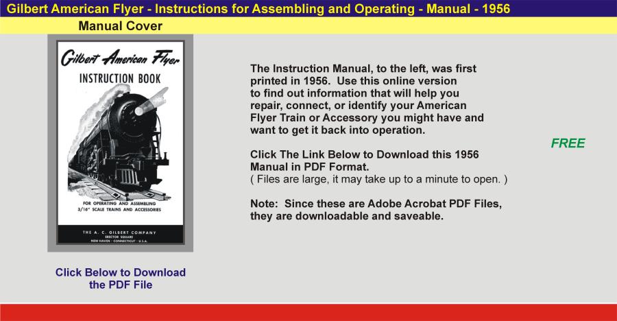 1956 - Instruction Manual