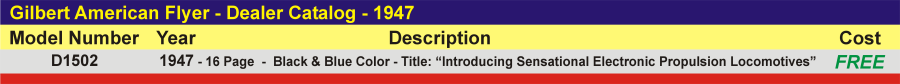 D1502 - Dealer Catalog,