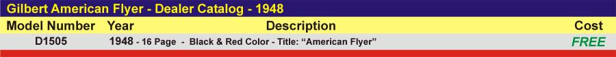 D1505 - Dealer Catalog,