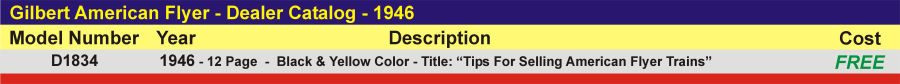 D1834 - Dealer Catalog,