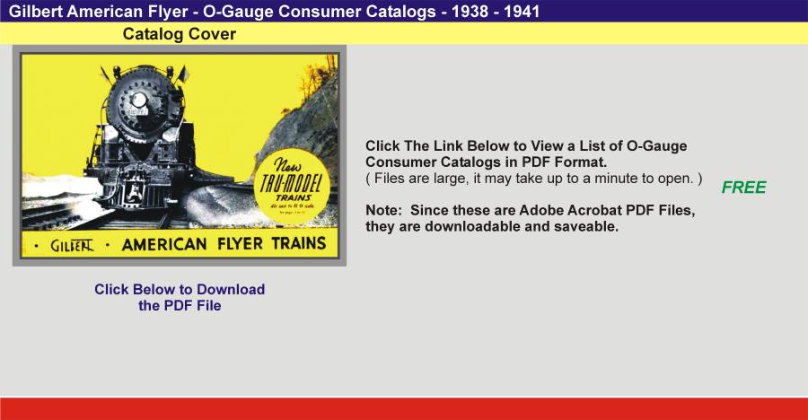 Consumer Catalogs – AmericanFlyerExpress