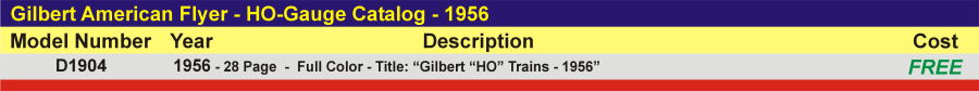 D1904 - HO-Gauge Catalog