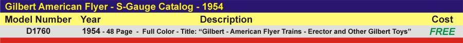 D1760 - S-Gauge Catalog