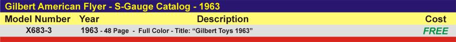 X683-3 - S-Gauge Catalog